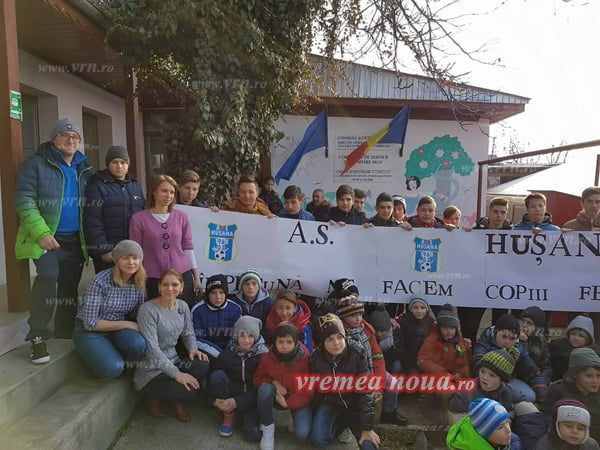 Echipa de fotbal renaste din cenusã la Husi!