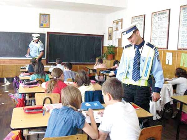 Siguranta în scoli, în atentia Politiei