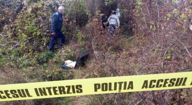 UPDADE: Cadavru descoperit într-o râpă la Coșca, comuna Ivănești