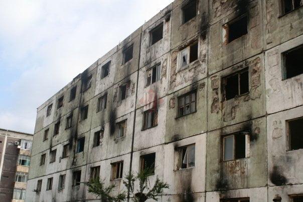 Se pregateste demolarea celui mai mizerabil bloc din Iasi. Edilii negociaza cu ultimii proprietari