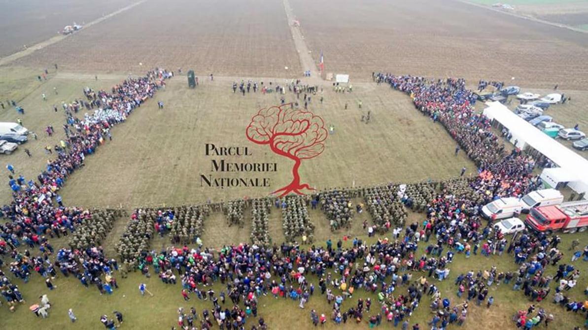 """OPT MII de voluntari au plantat 50 DE MII de stejari în """"Parcul Memoriei Naționale RO-Mândria"""". Proiectul continuă în 2018"""