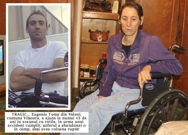 O viatã în scaunul cu rotile, din cauza unui sofer inconstient!