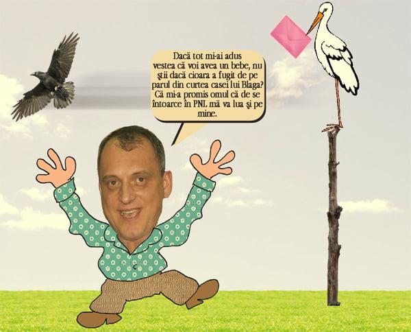 Ghici de ce a venit barza la Dan Marian? (pamflet)