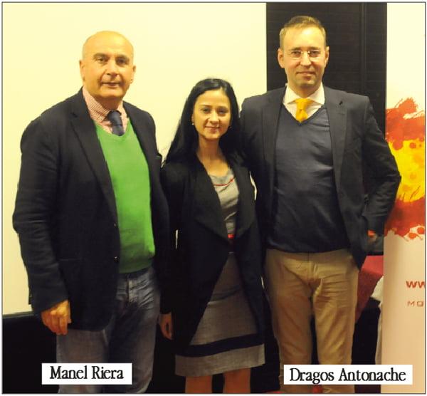 Celebrul avocat spaniol Manel Riera vrea sã-i învete pe vasluieni limba lui Cervantes
