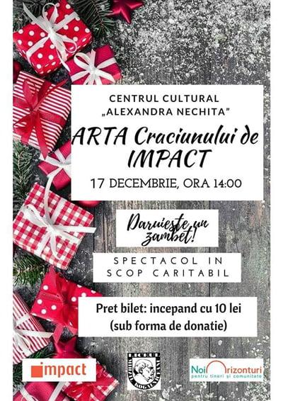 "Spectacol caritabil organizat de clubul Impact ""Temerar LMK"""