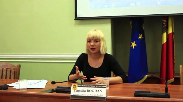 Decizia instanţei supreme privind reprimirea Cameliei Bogdan în magistratură, aşteptată luni