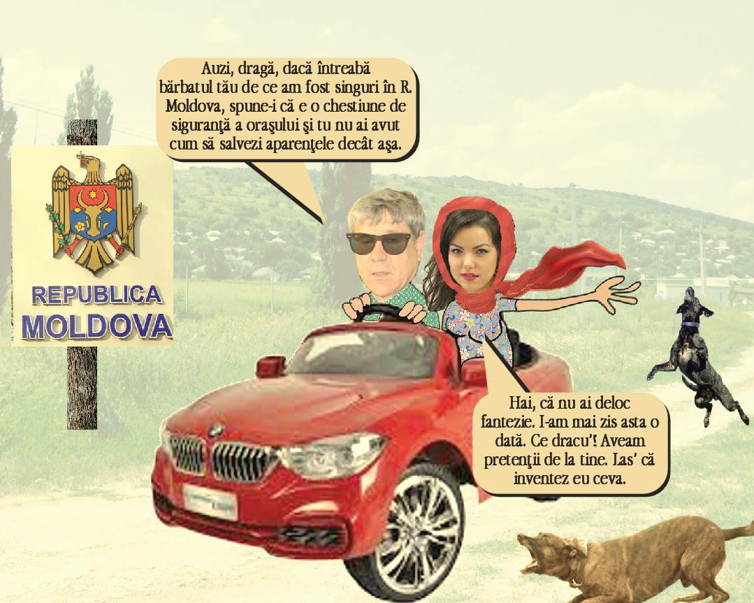 Boros a spart blocada gunoiului cu superspionul Sexy Roxana (pamflet)