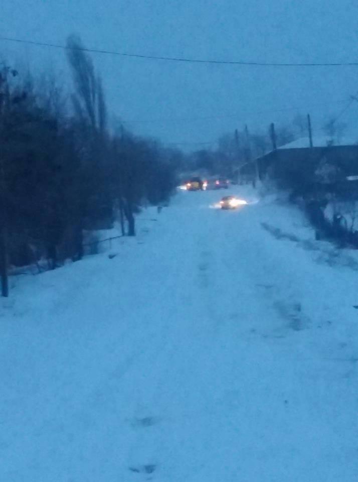 UPDATE: Viscolul a blocat mai multe drumri comunale în județ