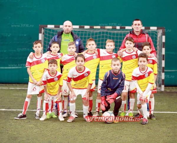Start perfect de an pentru fotbalistii de la Real Junior