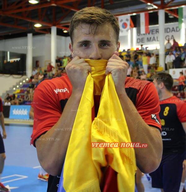 Demis Grigoras, noua sperantã a handbalului românesc