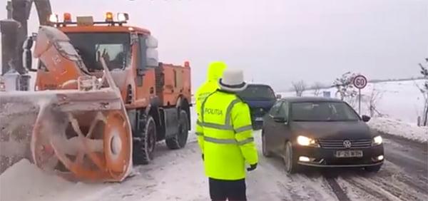 UPDATE:Drumurile județene deszăpezite ! (video)