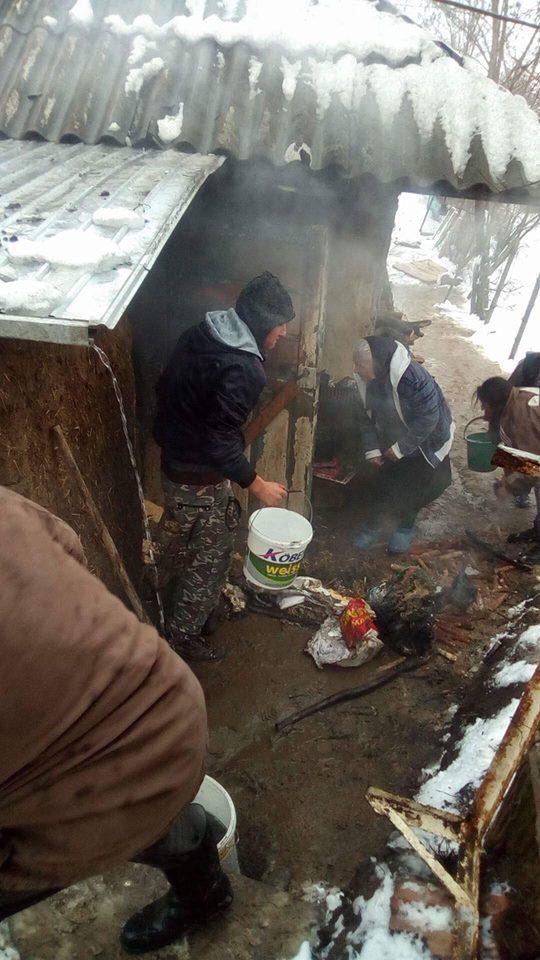Incendiu în comuna Iana, stins de pompierii voluntari si sãteni! (FOTO)