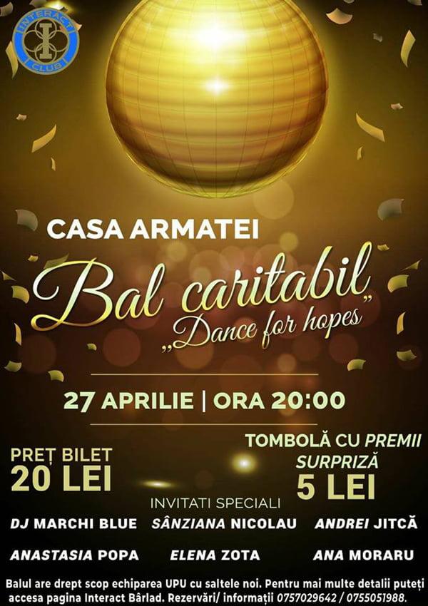 Bal si campionat de volei pentru sprijinirea spitalului bârlãdean, organizate de tineri!