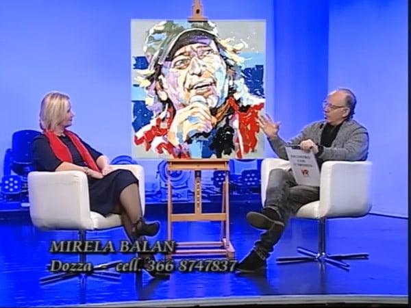 Pictorita de la Husi, loby pentru România la o televiziune din Italia!