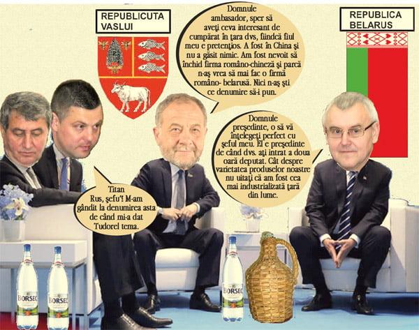 Rusii dau nãvalã la borcanul de miere al lui Buzatu | PAMFLET