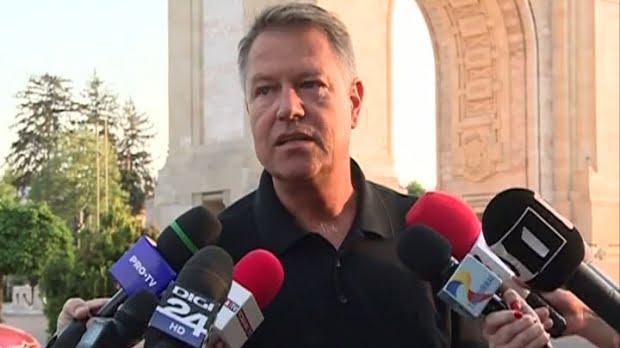 Klaus Iohannis: Nimeni din UE nu-şi mută ambasada la Ierusalim. Nu comparăm România cu SUA