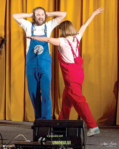 Actorul vasluian Vlad Gãlãtianu revine la Vaslui, într-un spectacol de improvizatie