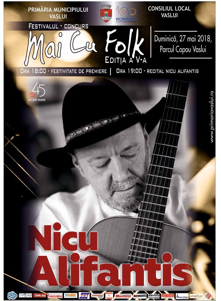 """Festivalul """"Mai cu folk"""", duminicã, în Parcul Copou"""