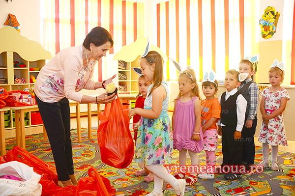 Cadouri de suflet pentru copiii din Stefan cel Mare