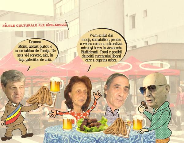 Micu' si cu berea bat la cur florile lui Tonita si catrenele Elenei Farago | PAMFLET
