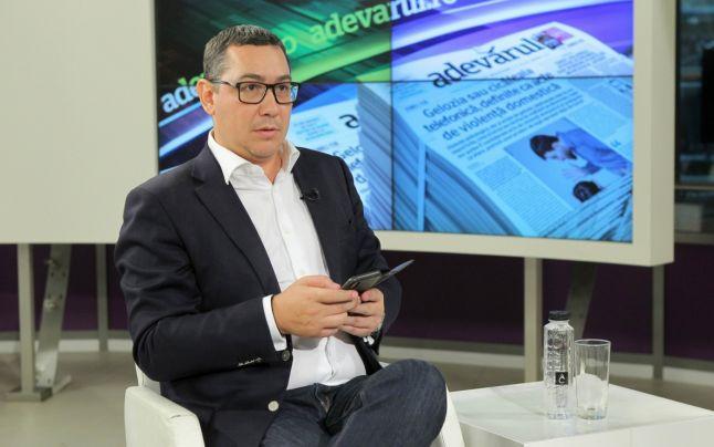 Ponta, despre neconstituţionalitatea Fondului Suveran de Investiţii: CCR a oprit cel mai mare jaf din avuţia României