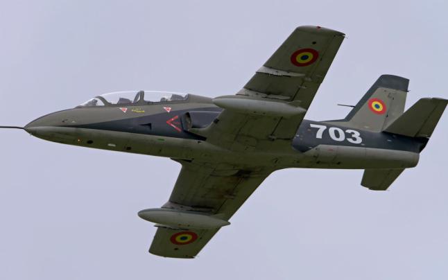 Un avion militar IAR 99 Şoim s-a prăbuşit în judeţul Bacău. A fost activat codul roşu de intervenţie