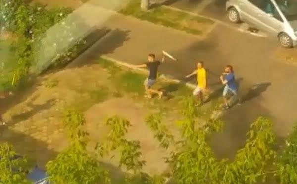 Scandal în plină stradă de la un… tuns
