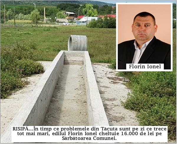 Sãrbãtoarea comunei Tãcuta motiv de scandal în sat!
