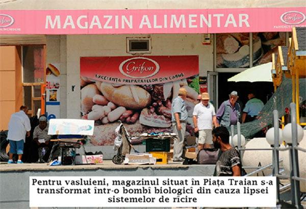 Magazinul fostului presedinte al romilor din Vaslui, bombã biologicã!