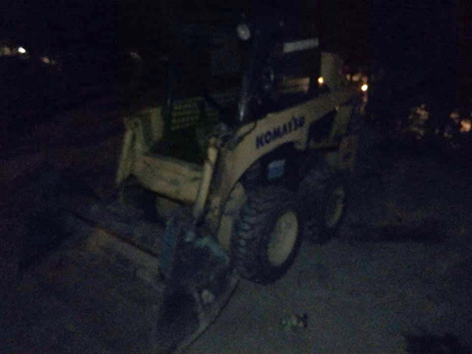 Faza zilei: Patru copii teribilisti din Vaslui s-au jucat cu buldozerul, în noapte!   VIDEO