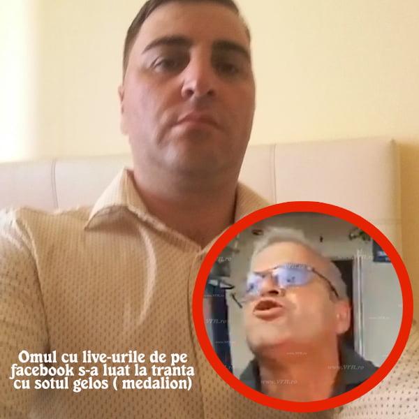 Omul cu transmisiile live din Bunesti Averesti si-a gãsit nasul (VIDEO)