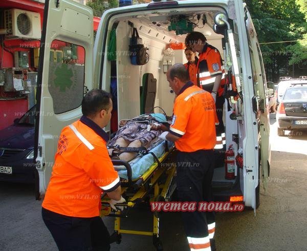ULTIMA ORA: Femeie accidentată pe trecerea de pietoni, la Bârlad