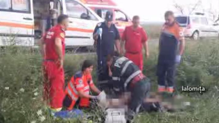 Val de accidente grave în ţară. Un bărbat a murit, alţi 6 oameni au ajuns la spital