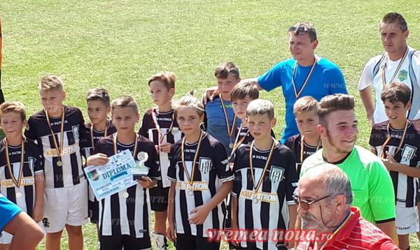 """Real Junior Vaslui, vicecampioanã la """"Brasov Cup"""""""
