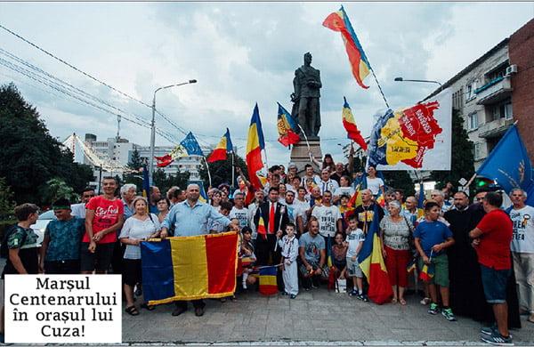 Flacãra Centenarã a ajuns la Tutova, Bârlad si Rosiesti! | FOTO