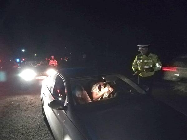 ULTIMA ORA: 30 de șoferi, serviți cu cafea în această dimineață la Crasna de prefectul de Vaslui și Poliția Rutieră! | VIDEO