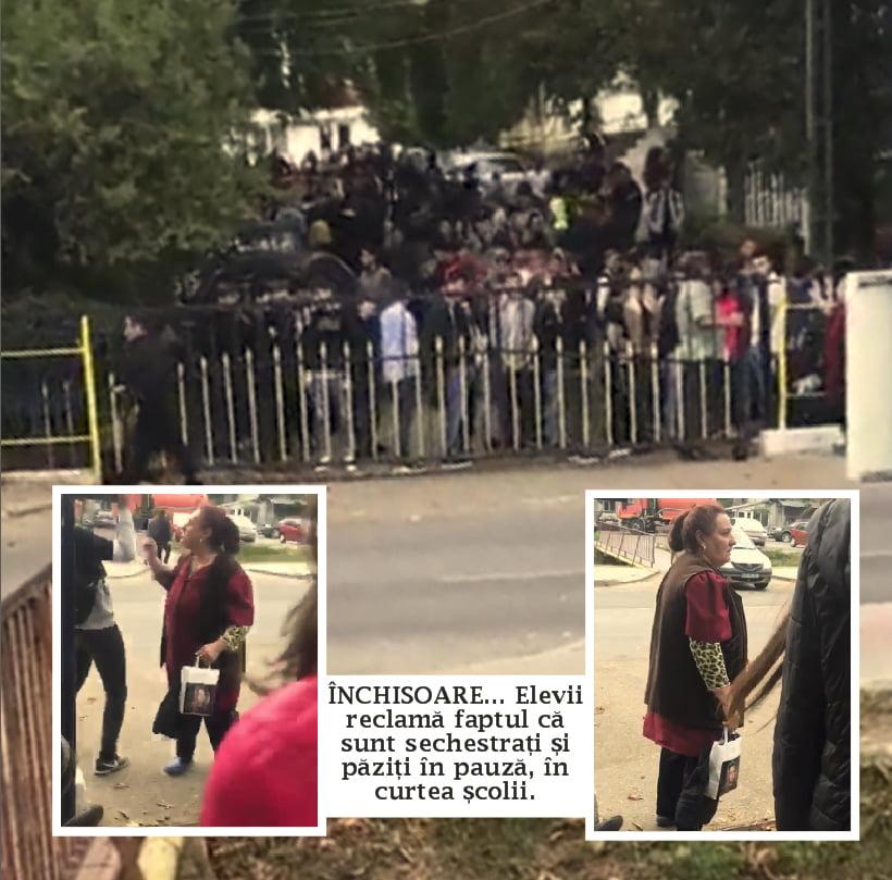 "Revolta liceenilor de la Stefan Procopiu: ""ne tin ca la închisoare"" | VIDEO"