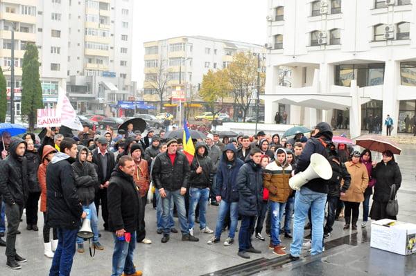 Adio, proteste în centrul Vasluiului, dacã nu se anuntã oficial!