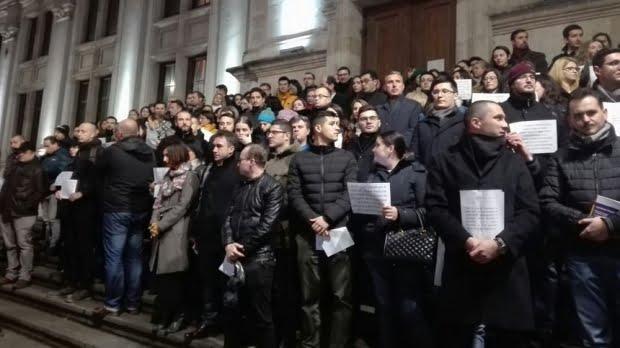 """Curtea de Apel a câştigat litigiul legat de protestul magistraţilor. """"Adunările publice trebuie declarate"""", a decis ÎCCJ"""