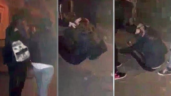 Elevă lovită cu pumnii şi cu picioarele, în plină stradă, de câţiva colegi