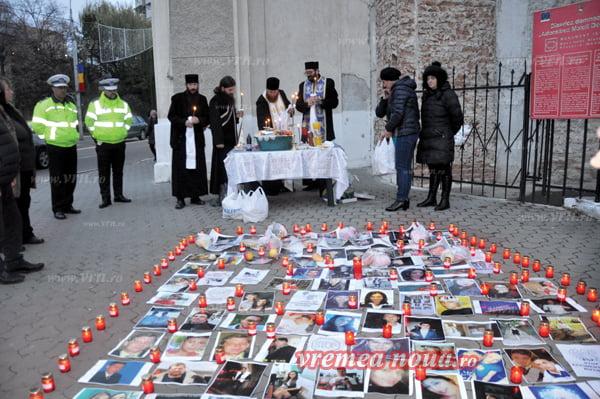 Victimele accidentelor de circulatie din Bârlad, comemorate!   FOTO