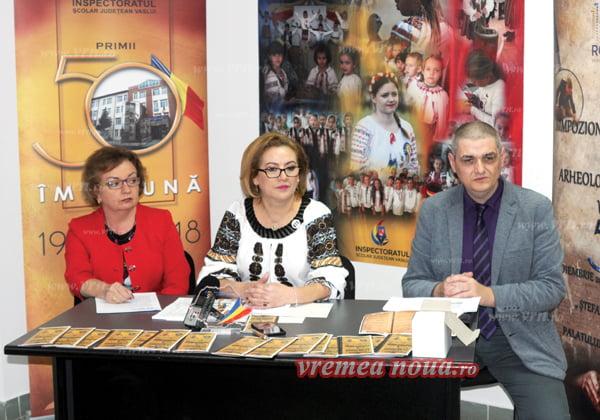 ISJ Vaslui, simpozion international si întâlnire de suflet la aniversarea a 50 de ani de activitate