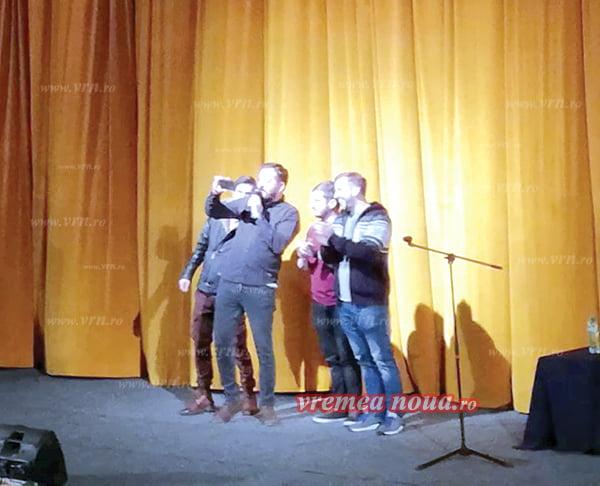 """Bobi Dumitras si Gabriel Gherghe, impresionati de publicul vasluian: """"Ati fost incredibili!"""""""