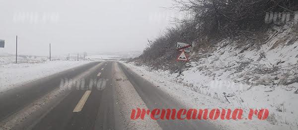 Drumurile naționale din județ și Europeanul, curățate de zăpadă