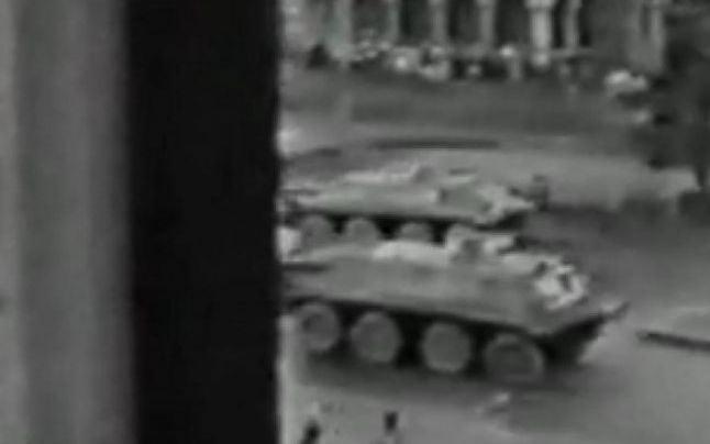 Povestea filmului în care se vede cum deschide focul Armata asupra manifestanţilor din Timişoara