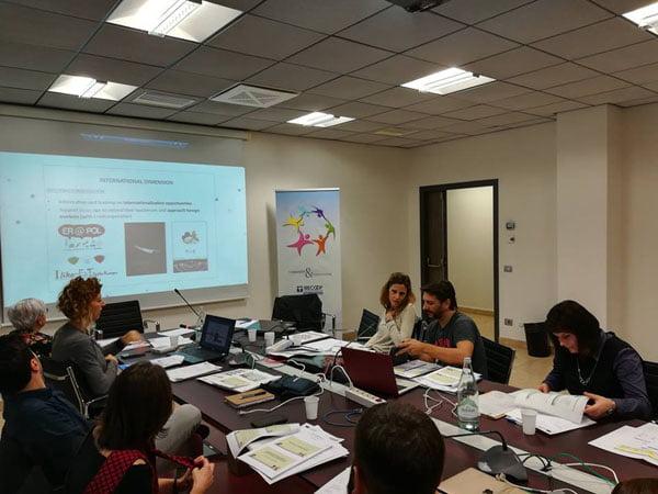Specialistii CJRAE Vaslui, prezenti la un schimb de practici didactice în Italia