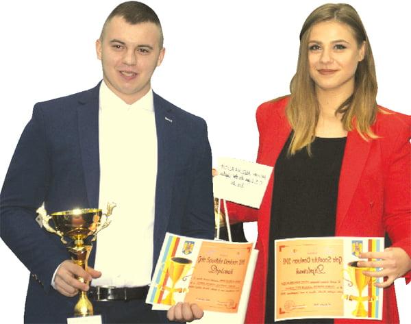 Andrei Micu si Adelina Mihai, sportivii anului 2018 | FOTO