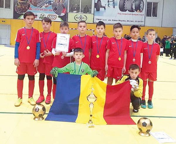 Juniorii vasluieni au cucerit Moldova