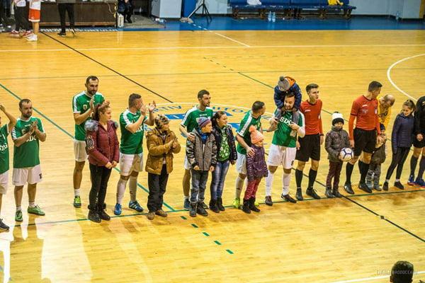 Fotbalul caritabil a mers la inima vasluienilor | FOTO