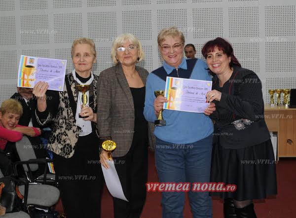 Voluntarii vasluieni, premiati de DJTS Vaslui